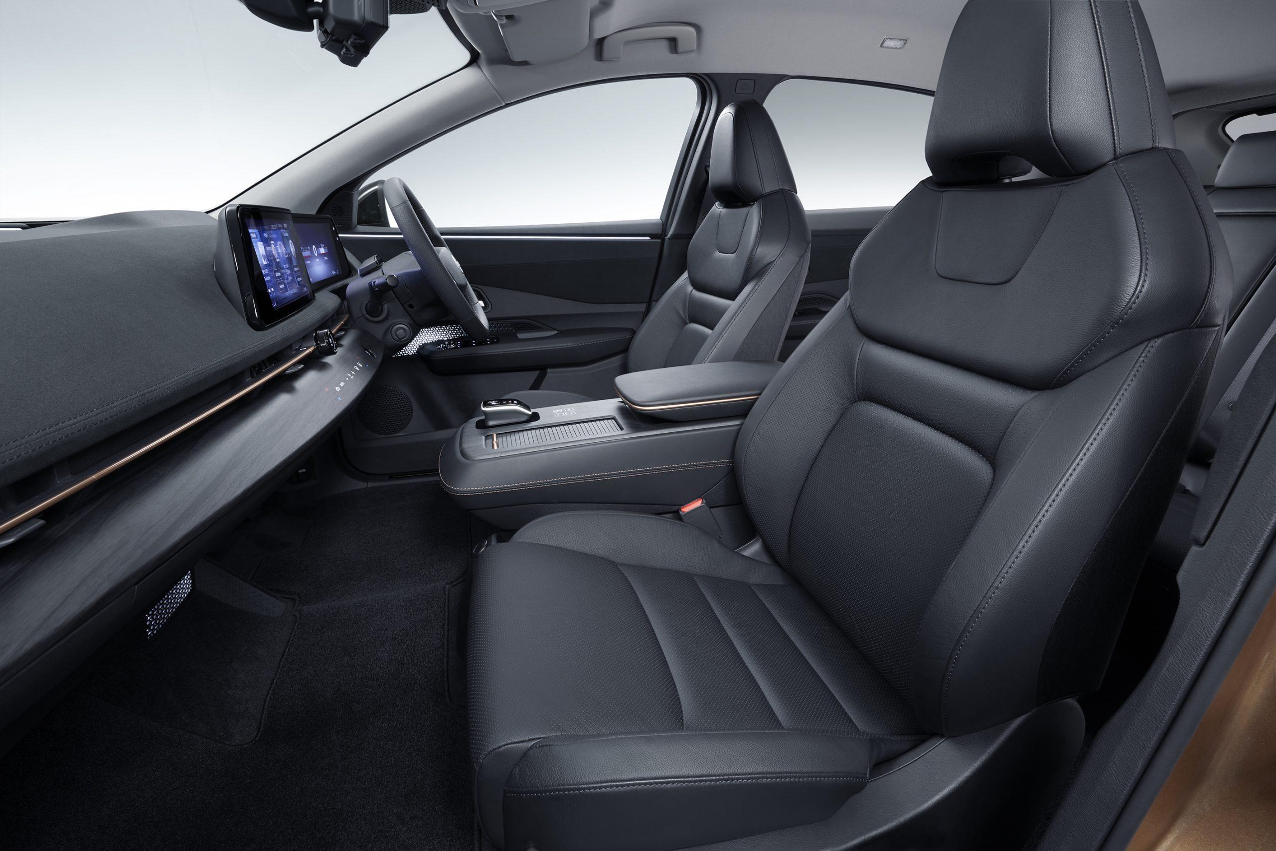 "ARIYA Interior Image_ Front seat<h3 class=""post-subtitle""></h3>"