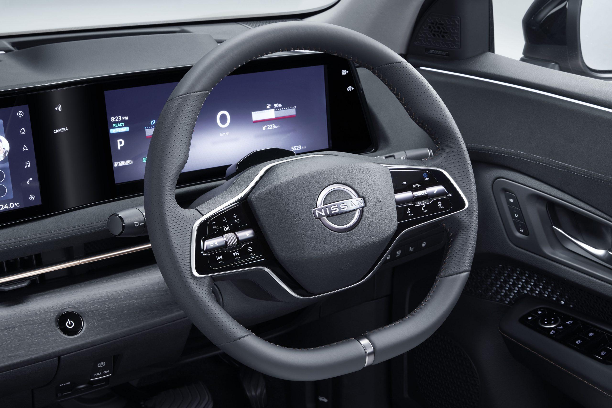 "ARIYA Interior Image_ steering wheel_revised<h3 class=""post-subtitle""></h3>"