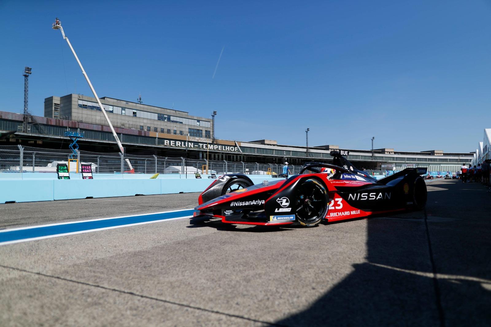 "Nissan Formula E – Nissan Ariya on FE car-source<h3 class=""post-subtitle""></h3>"
