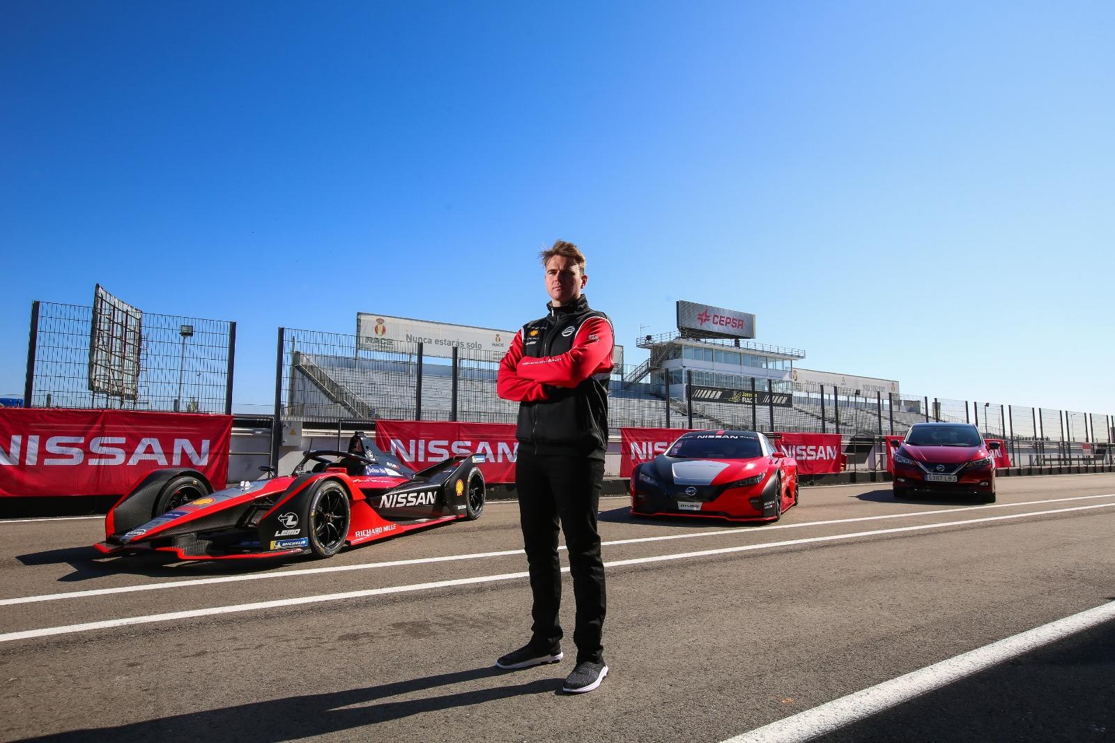 "Nissan Formula E – Oliver Rowland and the EV fleet-source<h3 class=""post-subtitle""></h3>"