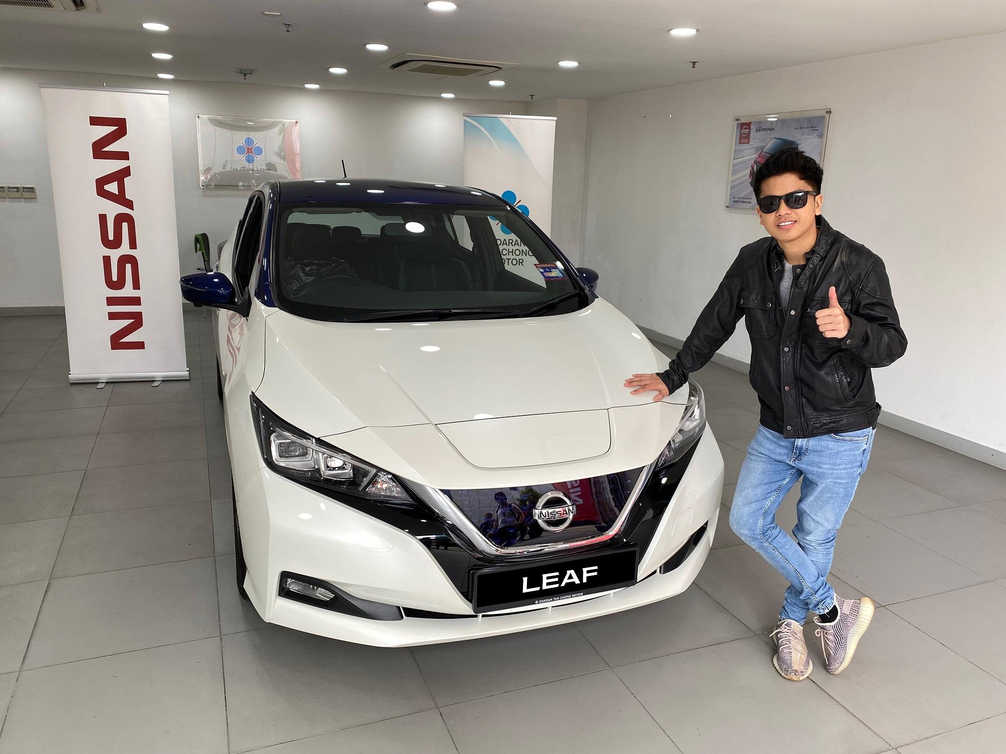 "1. ABPBH winner Haqiem Rusli with Nissan LEAF<h3 class=""post-subtitle""></h3>"